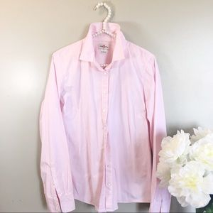 J Crew Haberdashery Classic Button Down Size Large